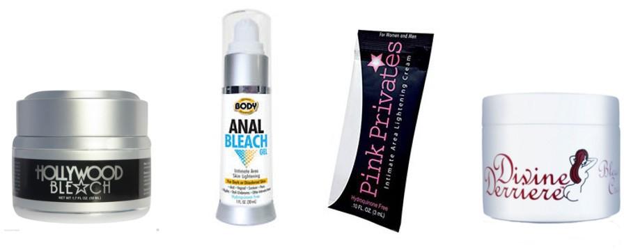 bleaching anal