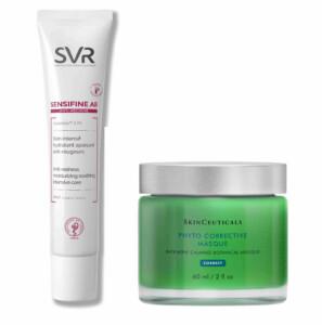 produits cosmétiques à appliquer après un traitement anti-couperose