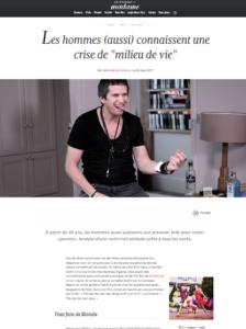 Le Journal de Mon Corps dans Madame Figaro