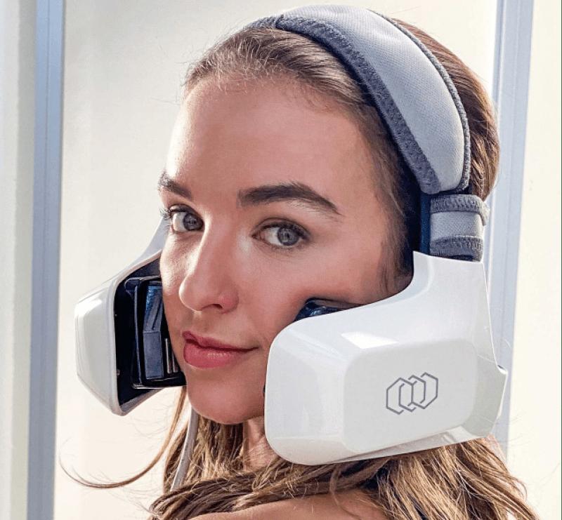 Un casque de radiofréquence pour rajeunir, sculpter le visage !